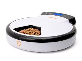 猫・中小型犬用 自動給餌器 WAGWAGオートフィーダー(5食分) 安心の電話サポート対応・1年保証付 録音ボイス&24時間タイマーセット可能 ドライ・ウェットフード対応 WG500