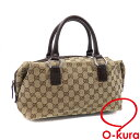 359a26e06c69 Gucci handbag Lady's beige brown GG canvas leather 113009 GUCCI  deep-discount exemption from taxation A2168606