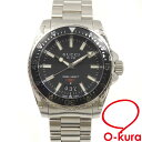 707208924 Gucci watch dive men quartz SS 136.3 GUCCI battery type DIVE YA136301  deep-discount pawnshop watch exemption from taxation C2159696