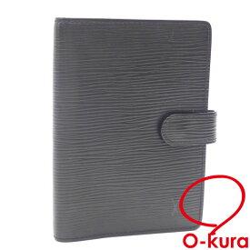 【中古】 ルイ ヴィトン 手帳カバー エピ アジェンダ PM R29952 ノワール ブラック システム手帳 レディース メンズ