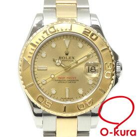 【中古】 ロレックス ROLEX ヨットマスター ボーイズ 168623 オートマ Y番 2002年頃製 K18YG SS 腕時計 自動巻き 機械式 イエローゴールド 750 18金