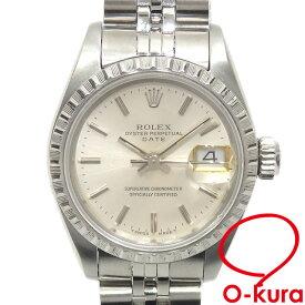 【中古】 ロレックス ROLEX オイスターパーペチュアル デイト ボーイズ 69240 オートマ E番 1991年頃製 SS 腕時計 自動巻き 機械式 男女兼用