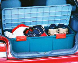 RV BOX 900D グレー/ダークグリーン【ステーションワゴン ラゲッジスペース サブトランク RVボックス コンテナボックス 収納ボックス 工具箱 工具ケース 車内収納 キャンプ レジャー 釣り アイリスオーヤマ】【時間指定不可】