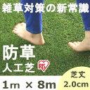 人工芝 ロール 1m×8m 芝丈20mm BP-2018 アイリスオーヤマ 防草人工芝 国産 人工芝 ベランダ 100cm×800cm 芝生マット…