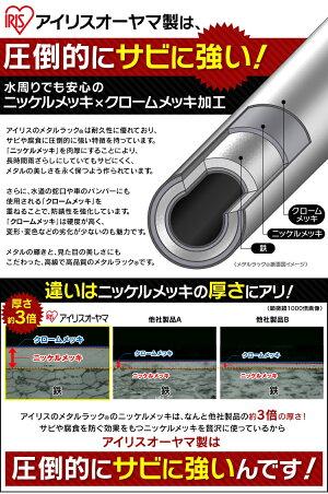 メタルミニワードローブMTO-WR55【アイリスオーヤマ】