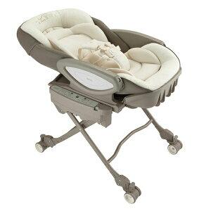 アップリカ ユラリズムオートAB BR 2050085送料無料 ベビー用品 赤ちゃん ハイローベッド ベビーチェア 電動 電動スウィング テーブル取り外し可能 4輪キャスター シート丸洗い可能 アップリカ