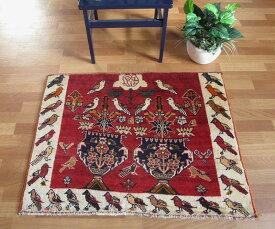 ギャッベ ギャベ/カシュガイ、絨毯のような細かな織 86×106cm