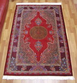 ペルシャ絨毯・シルク100% 193×131cm