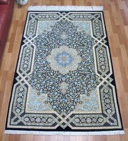 ペルシャ絨毯・シルク100% 203×134cm