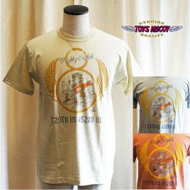 "TOYS McCOY(トイズマッコイ) MILITARY TEE ""729TH BOMBER SQDN"" ミリタリー半袖Tシャツ"