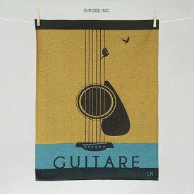 ティータオル ギター Tissage Moutet(ティーサージュ・ムテ) キッチンファブリック
