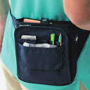 ウエストバッグ オーガナイザー 収納上手 収納名人 小物整理 ポケット ナース ポーチ 看護師 医療 介護 病院 保育士 …