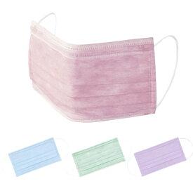 SENSI サージカル 不織布マスク (50枚入)ISO13485 飛散防止 感染予防 BFE値 95% エチケット ピンク 血色マスク ブルー グリーン ラベンダー 医療 介護 看護師 不織布 領収書OK