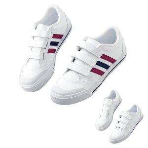 [マラソン期間中P2倍] アディダス スニーカー 面ファスナー SMS800 ナースシューズ 白 疲れにくい 歩きやすい Adidas 靴 シューズ 白い靴 病院 ナース 看護師 介護士 ナースコム 領収書OK 送料無料