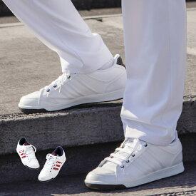 \優待キャンペーンでMAXP+10倍/ アディダス スニーカー ひもタイプ SMS801 ナースシューズ 白 疲れにくい 歩きやすい Adidas 靴 シューズ 白い靴 病院 ナース 看護師 介護士 ナースコム 領収書OK