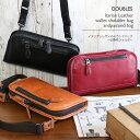 【DOUBLES】イタリアンレザーのセカンドバッグ〜お財布ショルダー/スモール 旅行 メンズ レディー ス 大人 おしゃれ カジュアルバッグ …