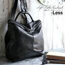 【-Less】RAMUDA 上質レザーのリュックサック LMSB-0201 本革 メンズ バッグ