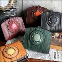 【送料無料】財布 【moquip】ガルーシャの宝石コンパクトウォレット(折財布)/モキップ〜ダークブラウンとグリーンは8月末仕上がり予定…