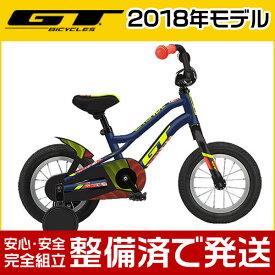 """GT(ジーティー) 2018年モデル GRUNGE 12""""/グランジ 12""""【12インチ】【子供用自転車/キッズバイク】【2017年継続モデル】"""
