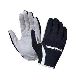 モンベル トレールライド サイクルグローブ ブラック M【mont・bell】