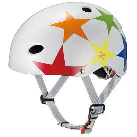 OGK KABUTO オージーケーカブト FR-KIDS FR-キッズ 子供用ヘルメット スターホワイト
