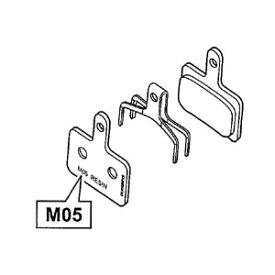SHIMANO (シマノ) BR-M515 レジンパッド (無印またはM05) &押えバネ
