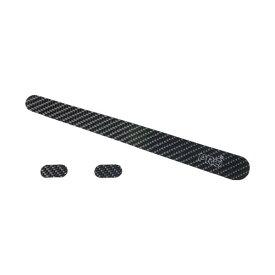 シマノプロ チェーンステー/ヘッドチューブ カーボンプロテクターセット