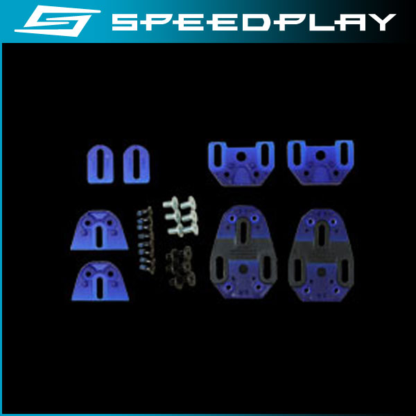 スピードプレイ オプションパーツ ベースプレートキット(2セット) / BASE PLATE KIT(2set) 【SPEEDPLAY】