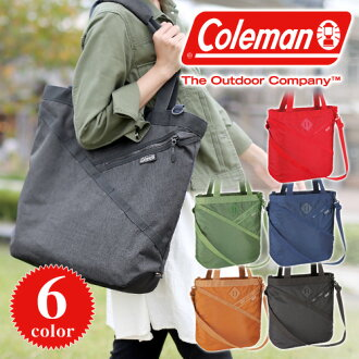 Coleman Coleman! in 2way shoulder bag tote bag [ATLAS SHOULDER TOTE, 21735 mens ladies A4 also bag birthday [anime/manga] our biggest sale!