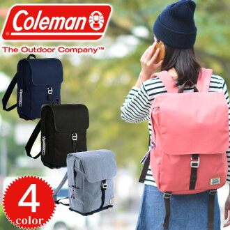 Coleman Luc Coleman! Backpack daypack JN flap Pack [JOURNEY FLAP PACK] 27129 mens ladies [anime/manga] high school students going to school