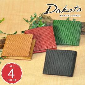 ダコタブラックレーベル Dakota black label!二つ折り財布 【レティコロ】 626101 メンズ レディース [通販]【ポイント10倍】【送料無料】 プレゼント ギフト ラッピング【あす楽】