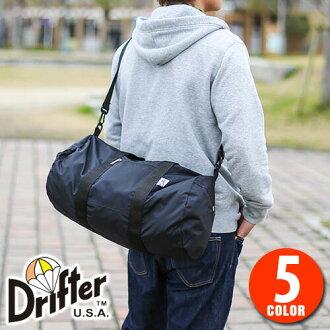 d87f3969412 Drifter Drifter! 2-way Boston bag shoulder bag df1870 mens gift women's  10P28Sep16