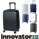 スーツケース 機内持ち込み キャリー ハード 旅行!イノベーター innovator 小型 38L 1泊〜3泊程度 inv48 メンズ レディース P10倍|ハ…