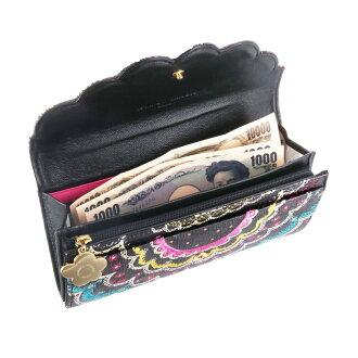 ツモリチサトtsumorichisato長財布被せ長財布スカラッププリントレディースポイント10倍送料無料あす楽誕生日プレゼントギフトプレゼントラッピング57377