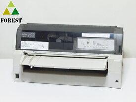 【中古】 ドットプリンター 富士通 FMPR5010 ネットワーク装備 ★新品インクリボンに交換済み