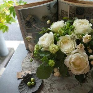 花 フラワーギフト 誕生日 ホワイトデー お礼 お悔やみ アレンジ 花束 ローズ ばら 薔薇 記念日 結婚祝い 贈り物  プレゼント 出産祝い 結婚記念日 オークリーフ世田谷