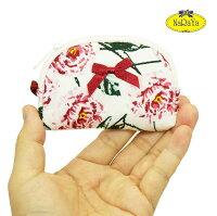 化粧ポーチナラヤNaRaYaタイかわいい手のひらサイズマチ無しポーチジュエリーケース・ピオニーNB-384小型宅配便選んで送料無料