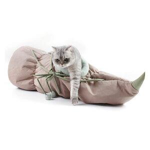 【7/18 00:00〜7/26 23:59まで各種クーポン配布中】 ねこトンネル 猫ハウス キャットトンネル わかいい おしゃれ おもちゃ 猫トンネル 折りたたみ 収納便利 蓮根形 洗える 猫遊び ペット用品 運動