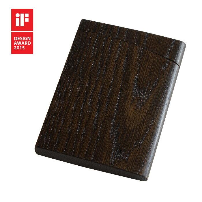 INRO:(黒色漆塗)【木製】【日本製】【カードケース】【いんろう】【印籠】【飛騨高山 オークヴィレッジ・Oak Village】