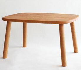 子ども用テーブル ミニテーブル 国産 | 無垢 無垢材 天然木 ベビーテーブル ローテーブル キッズテーブル 木製 幅62cm 高さ35cm 幼児 食事用 お絵かき 勉強机 かわいい 組立済み