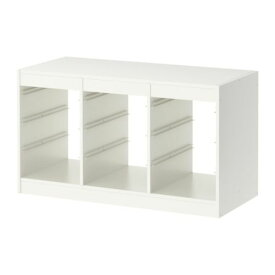 IKEA TROFAST イケア トフロファスト フレーム, ホワイト 603.514.34