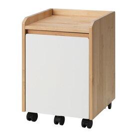 IKEA KUNSKAP イケア 引き出しユニット キャスター付き, バーチ, ホワイト 003.189.99