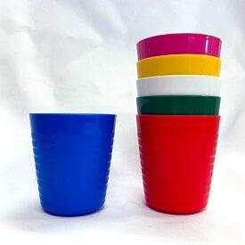 【NEWカラーマルチカラー】イケア カラース IKEA KALAS プラスチック コップ アソートカラー 6ピース 104.212.98
