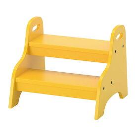 IKEA TROGEN イケア ステップスツール, イエロー 踏み台 203.715.23