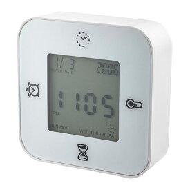 IKEA KLOCKIS イケア 時計/温度計/アラーム/タイマー, ホワイト 502.770.05