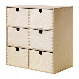 IKEA イケア MOPPE モッペミニチェスト, バーチ材合板(102.274.37)