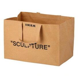 【NEW】IKEAイケアMARKERAD マルケラッドキャリーバッグ L, ナチュラル204.515.10