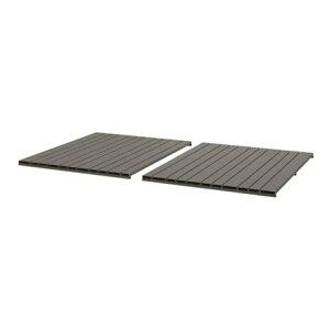 【NEW】IKEAイケアSJLLAND シェランドテーブルトップ 屋外用 ダークグレー2 ピース403.865.14
