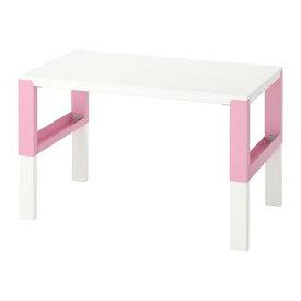 IKEA イケア PÅHL ポールデスク, ホワイト, ピンク 592.451.09