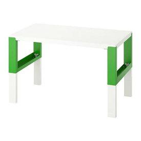 IKEA イケア PÅHL ポールデスク, ホワイト グリーン 792.451.08
